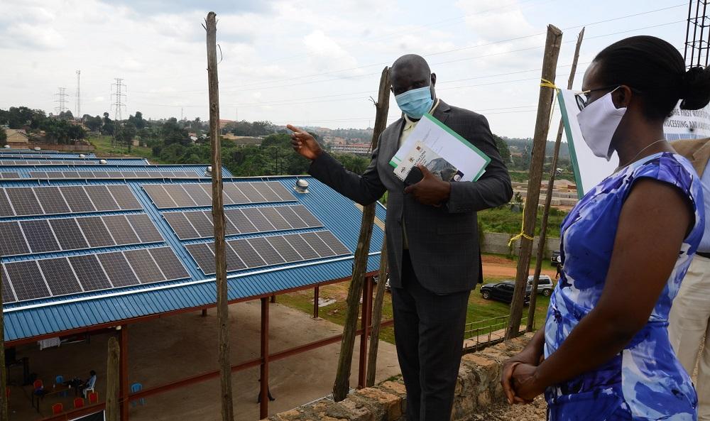 Solar Power Plant in Uganda