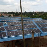 NUCAFE's First Industrial Solar Power Plant