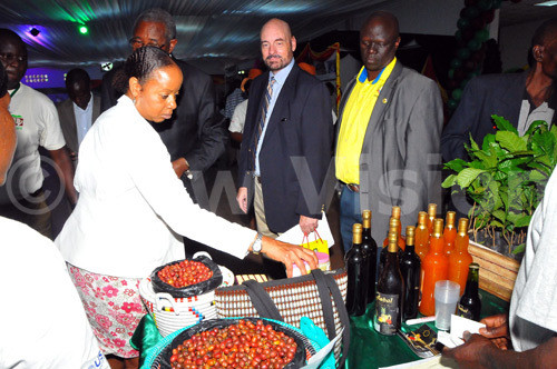 Uganda's coffee leads on African market